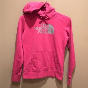 The North Face Pink Hoodie Size XS